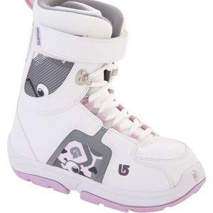 Girls Burton 'Freestyle' Snowboarding Boots